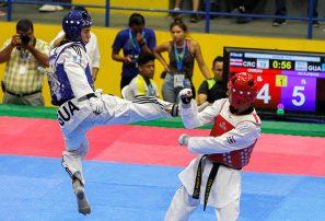 El Taekwondo abre la fiesta de los Centroamericanos
