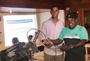 José Olivares iniciará proyecto  que lo lanzaría a élite del tenis