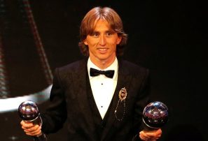 Luka Modric conquista el premio 'The Best'