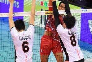 Selección masculina de voleibol cae ante Japón en torneo mundial