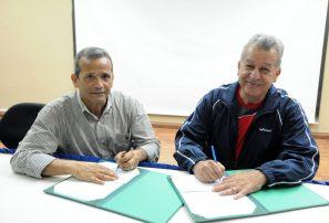 Federaciones de Tenis de Mesa de RD y Venezuela firman convenio de cooperación