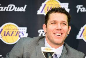 Luke Walton cree que los Lakers pueden ser candidatos al título en la NBA