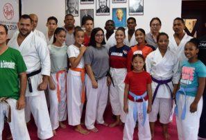 Región Norte presenta selección de karate para Juegos Nacionales