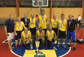 Ozama gana Torneo Nacional de Maxibaloncesto