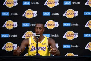 Rajon Rondo quiere ser el primero en ganarlo todo con Celtics y Lakers