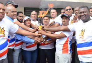 Antorcha XIV Juegos Nacionales recorrió la provincia Santo Domingo