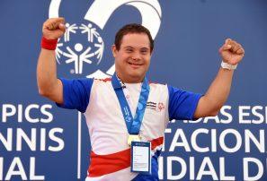 RD conquistó 35 medallas en el Invitacional Mundial de Tenis de Olimpiadas Especiales