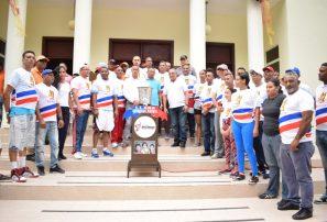 Azua y Ocoa reciben antorcha de los Juegos Deportivos Nacionales
