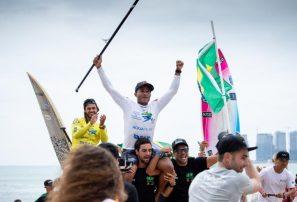 Shakira Westdorp y Luis Diniz repiten como Campeones SUP Surfing