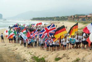 Los hombres del SUP Surfing dan inicio al campeonato en Wanning