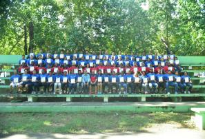 Asovodina entrega pergaminos a entrenadores Nivel Uno
