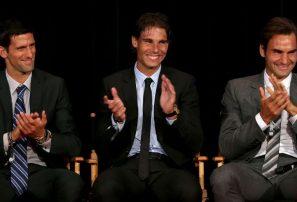 Djokovic-Nadal-Federer repiten Top3 de ATP por 7ma vez en sus carreras