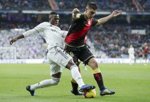 Real Madrid sufrió para derrotar en casa 1-0 al Rayo