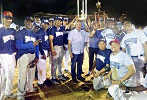 Base Naval se corona campeón de torneo de softbol de oficiales Armada Dominicana