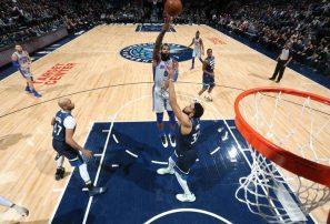 Karl Towns y Minnesota caen en tiempo extra ante Detroit en la NBA