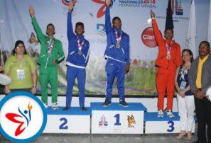 Royer Vizcaíno y Camil Betances se destacan en gimnasia de Juegos Nacionales