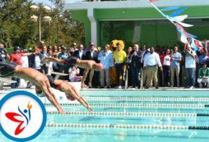 Realizan reapertura de la piscina olímpica de los Juegos Nacionales
