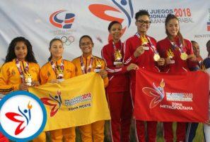 Metropolitana arrasa en kata por equipos en karate Juegos Nacionales