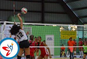 Sur, Metro, Quinta Zona y Este ganan inicio voleibol Juegos Hermanas Mirabal