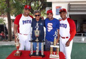 Los Corderos ganan torneo de sóftbol en aniversario de liga San Jerónimo