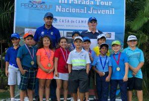 Kang y Kim ganan tercera parada Tour Nacional Juvenil Fedogolf
