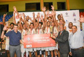 UNEV también se coronó campeón masculino de Copa Universitaria de Baloncesto