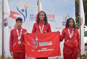 Zona Metropolitana barre con los oros triatlón Juegos Nacionales
