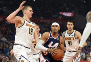 Clippers vencen por paliza a los Nuggets en la NBA