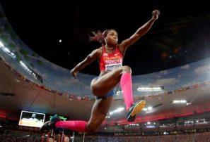 Caterine Ibargüen es nombrada mejor atleta del año por la IAAF