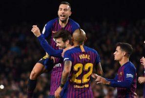 El Barcelona se impone ante el Villarreal en la Liga de España