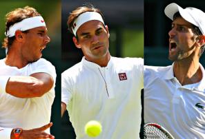 Djokovic, Nadal y Federer forman el podio más veterano de fin de año en ATP