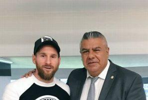 """Presidente de AFA: """"Messi nunca se fue de la Selección"""""""