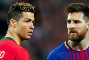 Ronaldo 'reta' a Lionel Messi para que se vaya a la Serie A