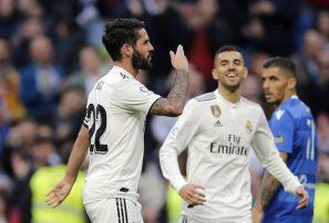 Isco y Asensio se lucen en goleada del Madrid en Copa